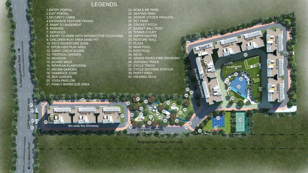 Shriram Blue Master Plan